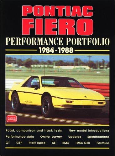 Pontiac Fiero Performance Portfolio 1984-1988