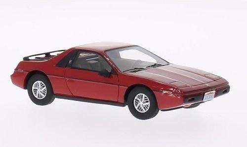 Pontiac Fiero 2M4, red, 1984, Model Car, Ready-made, BoS-Models 1:43