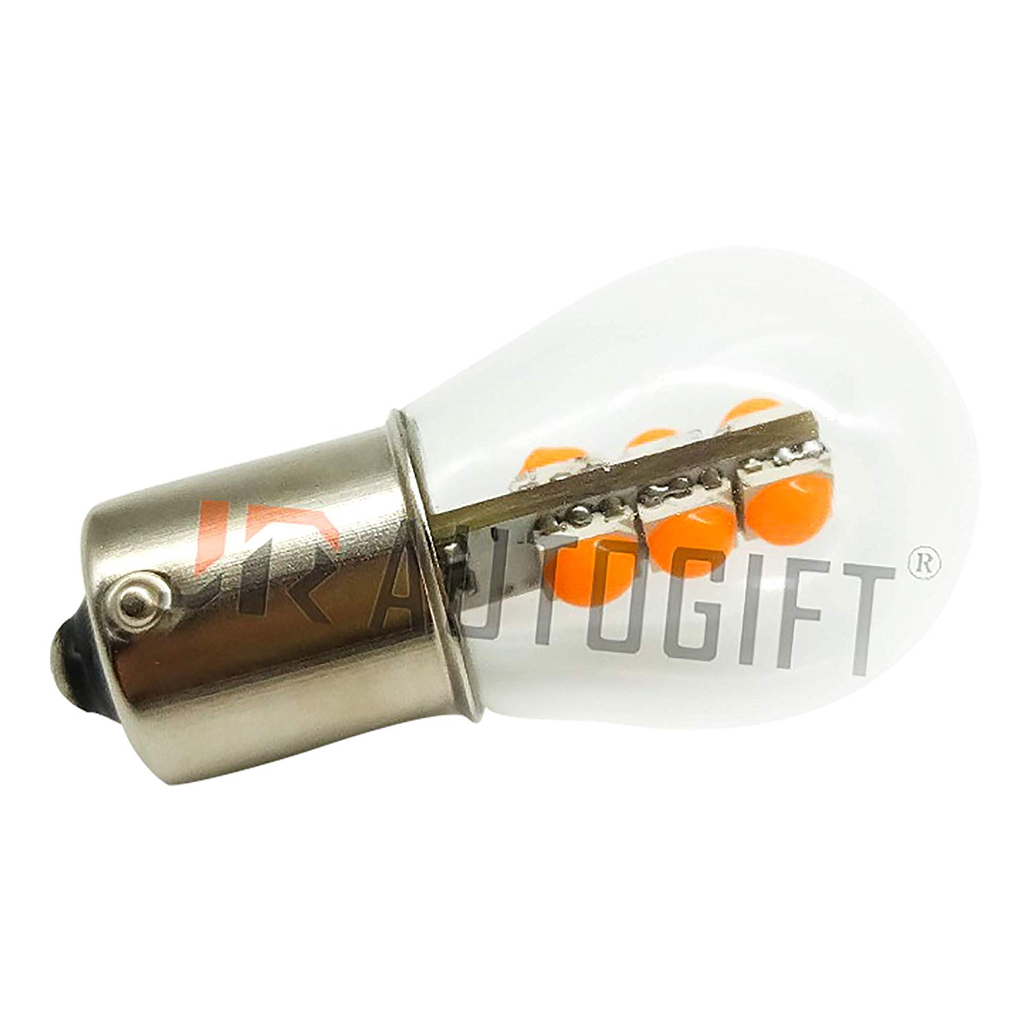 Vintage – style Automotive LED Replacement bulbs Orange/clear – 1157 Perfect for Pontiac Fiero!