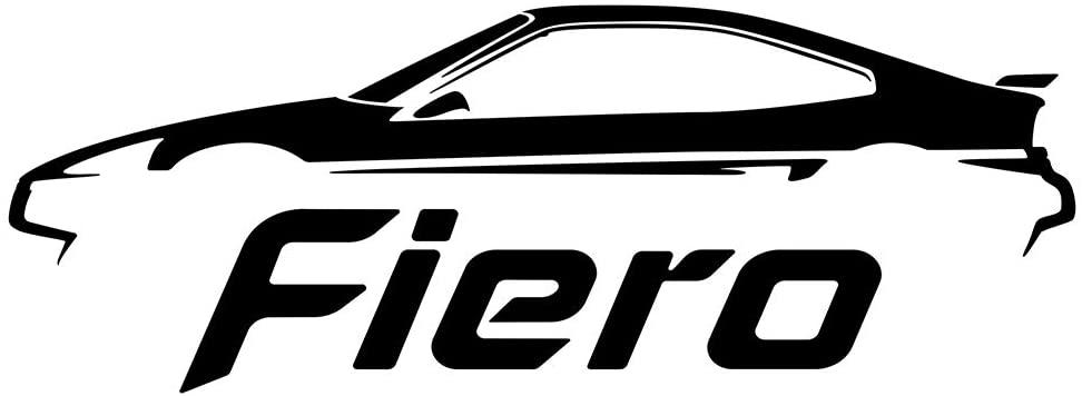 Pontiac Fiero GT Decal