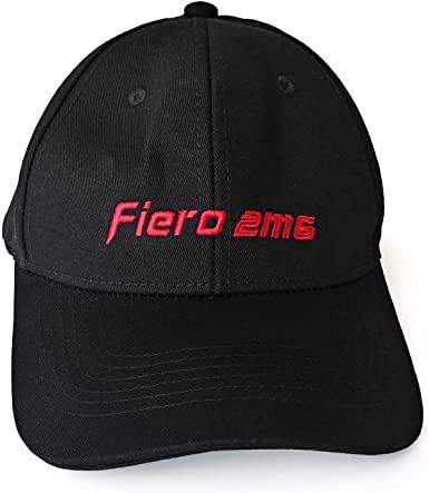 Pontiac Fiero Black 2M6 Cap