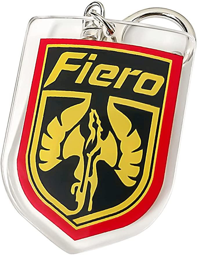 Pontiac Fiero Acrylic Emblem Key Chain